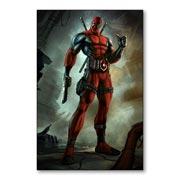 Магнитная картина Deadpool